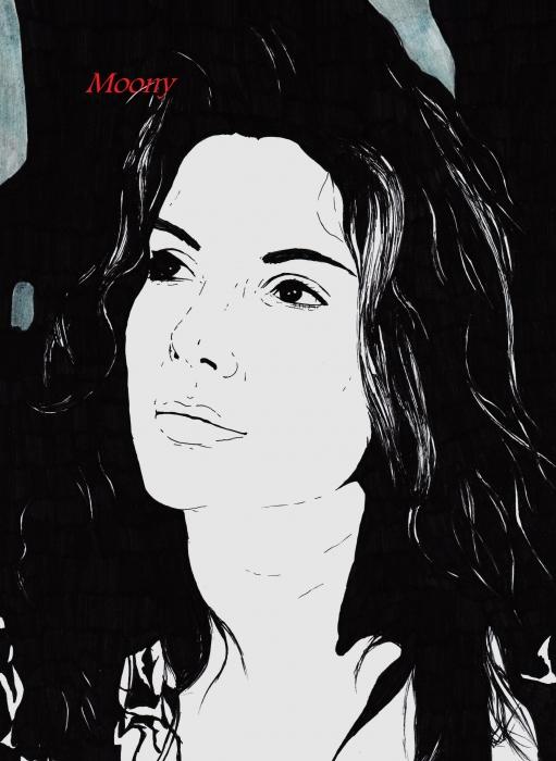 Sandra Bullock by Moony36